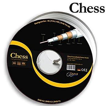 Chess Sat Cable 100 m chessko axialkabel RG6 penta150 100 m de 5 capas,
