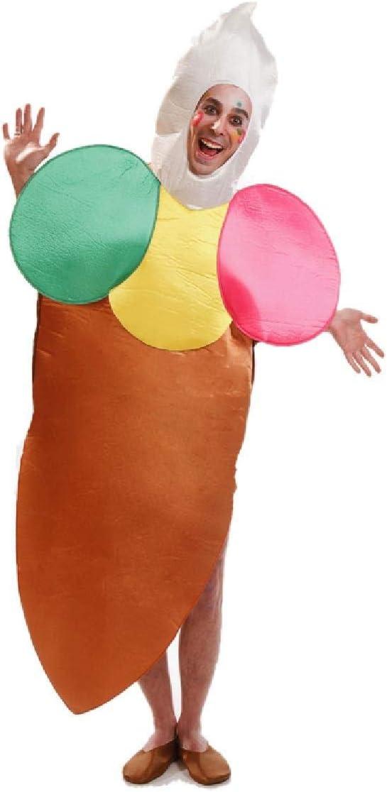 Disfraz para adultos de Helado de Cucurucho de 4 bolas: Amazon.es ...