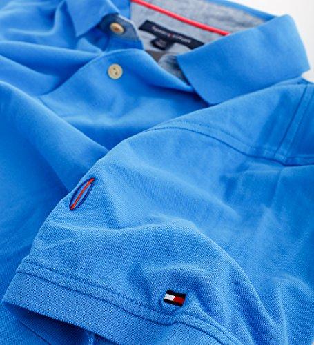 Tommy Hilfiger Herren Polo Poloshirt Allover Surfboards blue Größe L
