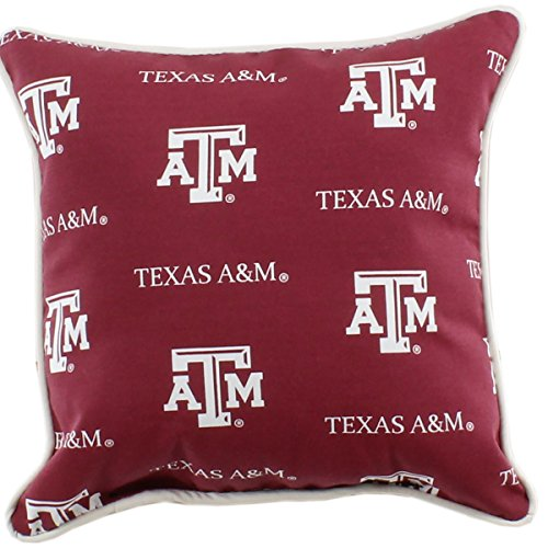 College Covers Texas A&M Aggies Outdoor Decorative Throw Pillow, 16
