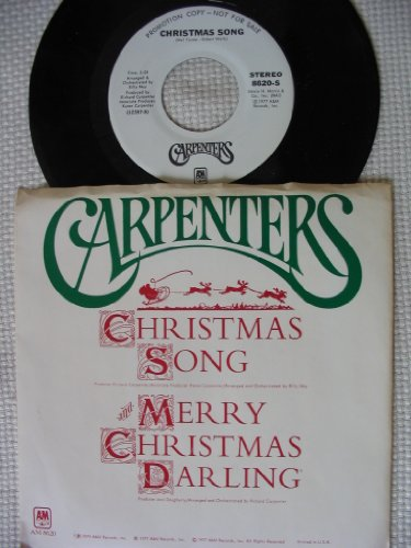 christmas song 45 rpm single