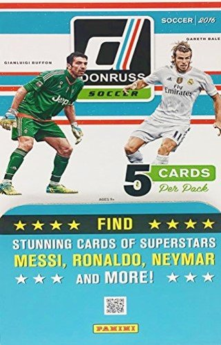 Donruss Soccer Factory Sealed Packs product image