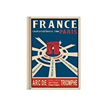 Paris Vintage Galore Collection Blank Notebook: Vy8698