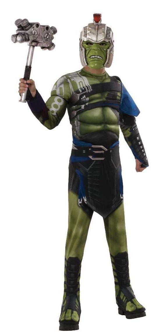 Rubie's 640156S Official Marvel Ragnarok War Hulk Deluxe Costume, Kids',  Medium (Age 3-4 Years, Height 117 cm)