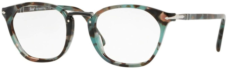 57359ef3fe953 Eyeglasses Persol PO 3209 V 1070 TORTOISE AZURE at Amazon Men s Clothing  store