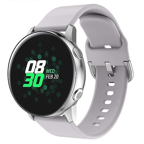 LayOPO - Correa de Silicona para Reloj Samsung Galaxy Watch ...
