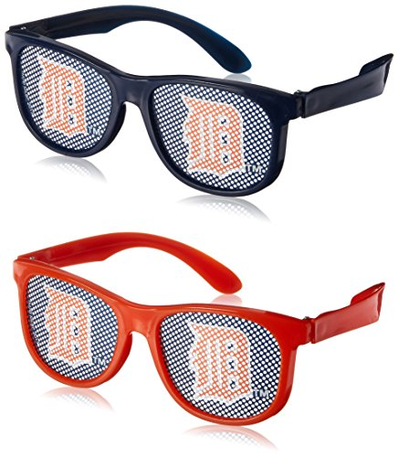 Shop online Amscan Detroit Tigers Party Printed Glasses Supplies , Blue/Red, Pieces