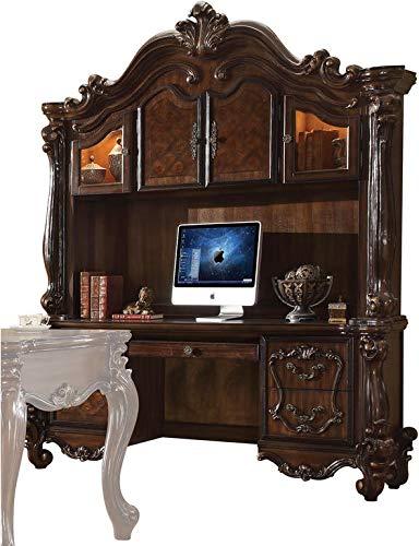 (ACME Versailles Cherry Oak Desk with)
