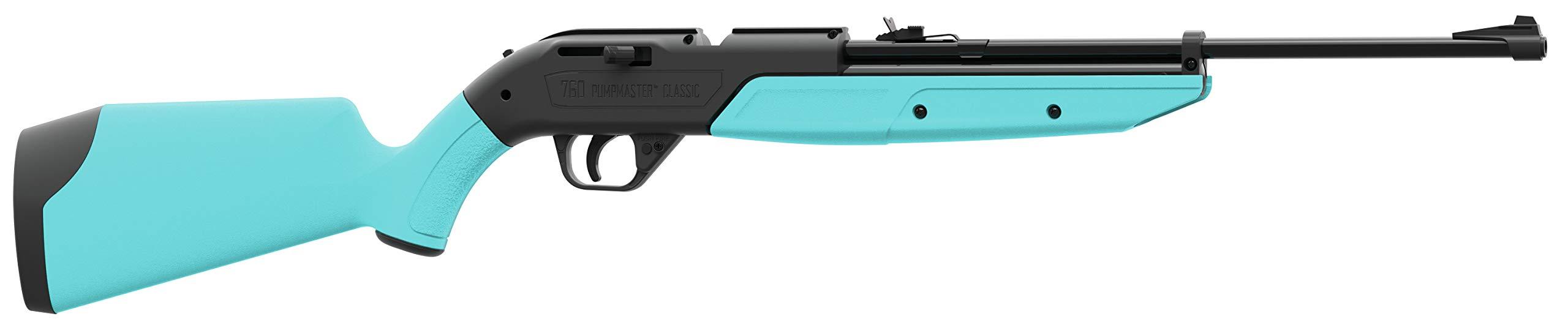 Crosman 760LB 760 Pumpmaster .177 Pellet/BB Pneumatic Pump Air Rifle, Blue by Crosman