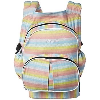 Image of Baby Stuff 4 Multiples Twingaroo Double Baby Carrier- Rainbow Edition, Rainbow