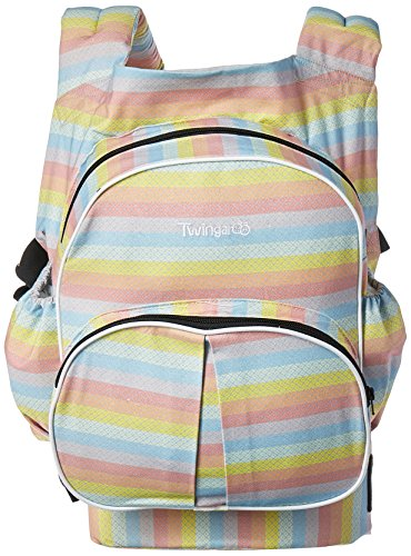 Stuff 4 Multiples Twingaroo Double Baby Carrier- Rainbow Edition, Rainbow