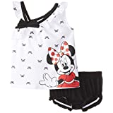 Disney Baby-Girls  Minnie Mouse Pullover Set with Panty