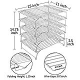 TeamFar Cooling Rack, 5-Tiers Stainless Steel