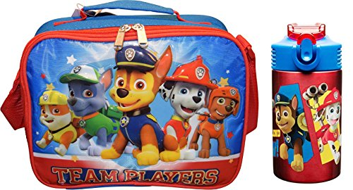 - Paw Patrol Insulated Lunch Tote PLUS Stainless Steel Drink Bottle