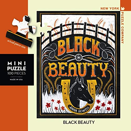 New York Puzzle Company - Penguin Random House Black Beauty Mini - 100 Piece Jigsaw Puzzle
