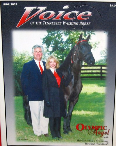 (Voice of the Tennessee Walking Horse with Olympic Angel June 2002 (Volume 41, No. 7))