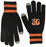 NFL Cincinnati Bengals Men's Sportsman Touch OTS Glove, Black, Men's