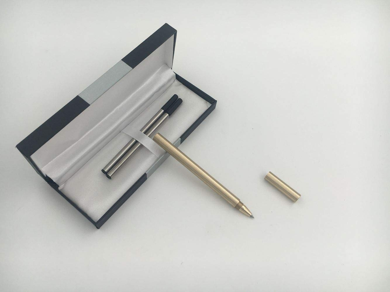 Accod Stylo /à bille fait main en laiton 0,5 mm