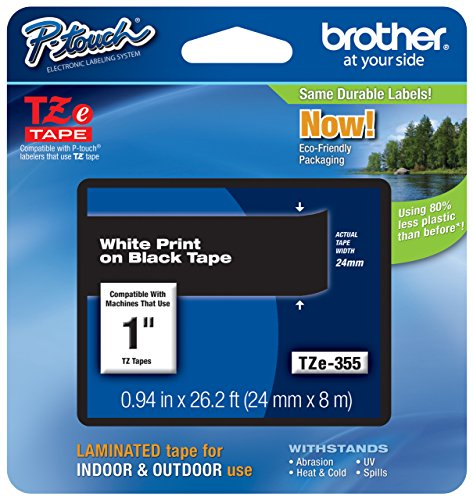 Brother Genuine P-touch TZE-355 Tape, 1