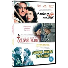The Life and Death of Colonel Blimp/ A Matter of Life and Death/ I Know Where I'm Going by David Niven