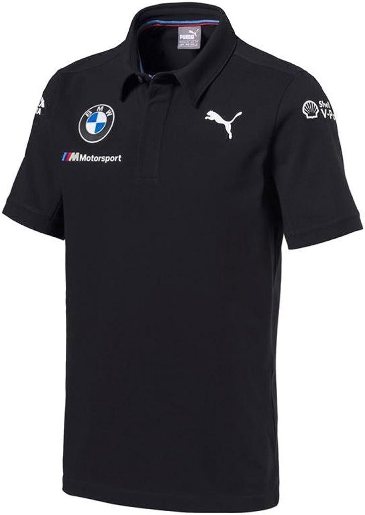B07CK52887 BMW Motorsports Dark Anthracite Gray Men's Team Polo Shirt 51iAFe-DmOL