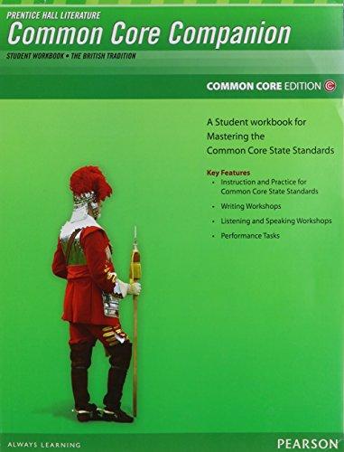 PRENTICE HALL LITERATURE 2012 COMMON CORE STUDENT WORKBOOK GRADE 12