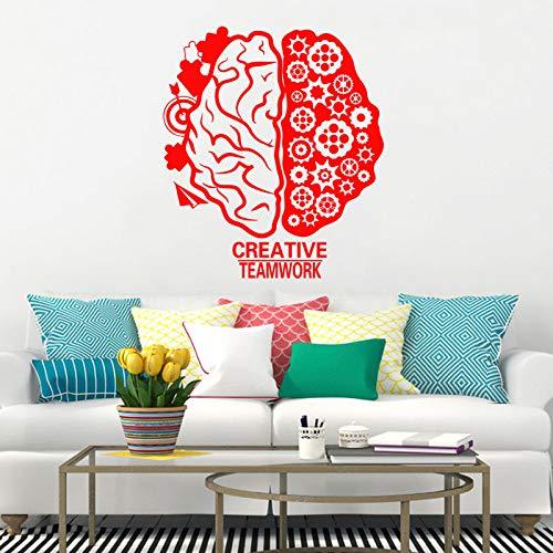 Dongwall Arte Nuevo diseño Cerebro decoración Vinilo Tatuajes de ...