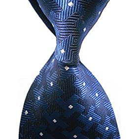 KissTies Tall Men Necktie Windmill Pattern Extra Long Tie + Gift Box (63'' XL)