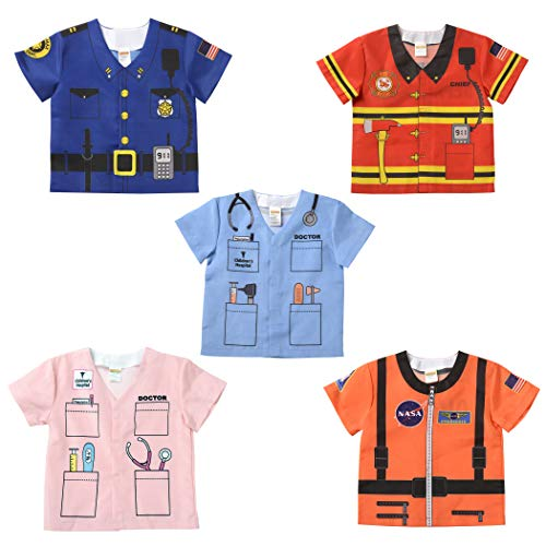 Aeromax, Inc. My 1st Career Gear Toddler Assortment-C, 5 Piece Set, Ages 18-36 - Toddler Costumes Career