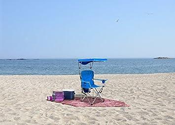 Quik Shade Full Size Shade Folding Chair, Royal Blue