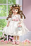 """Jmisa 16"""" Standing Doll with White Dress"""
