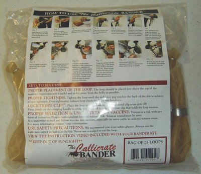Callicrate Castration Bands, 25 Pk