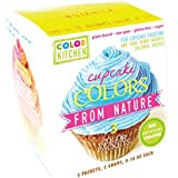 Cupcake Coloring Set (PINK, YELLOW, and BLUE) - All Natural, Vegan, Non-GMO