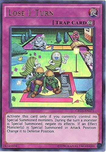 MP16-EN034 Lose 1 Turn Ultra Rare 1st Edition Mint YuGiOh Card