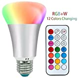 Best Bulb Lights With IR Remotes - LED Bulb RGBW with IR Remote Control Review