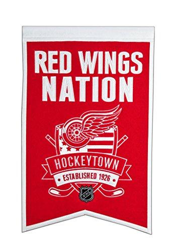 Winning Streak NHL Detroit Red Wings Nations Banner