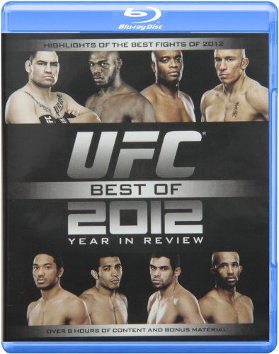 UFC Best of 2012: Year in Review [Blu-ray] (Ufc Best Fights Videos)