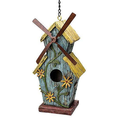 Mill Birdhouse - Best Home Products Windmill Birdhouse for Outdoors Hanging - Ye Ol' Mill | Gifts and Décor