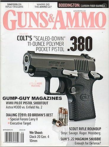 GUNS & AMMO Vol 57 No 9 2013 Magazine COLT'S SCALED-DOWN 11