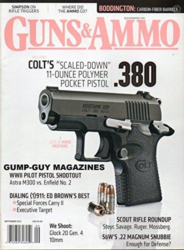 GUNS & AMMO Vol 57 No 9 2013 Magazine COLT'S