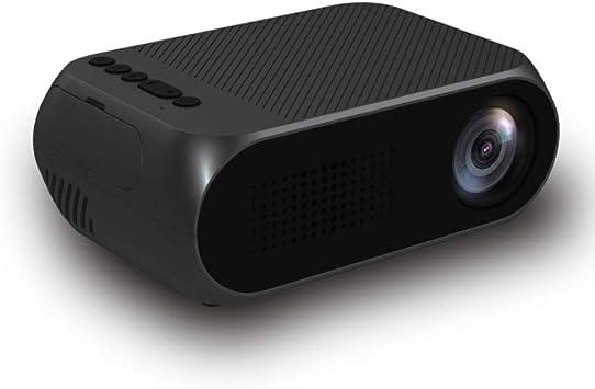 Opinión sobre Led Yg320 Led Projector 600 Lumen 3.5mm Audio 320x240 Pixels Yg-320 Hdmi USB Mini Proyector Home Media Player Negro