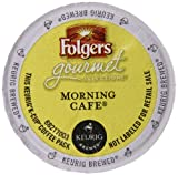 Folgers Gourmet Selections Morning Café Coffee, K-Cup for Keurig Brewers, 12 Count (pack of 6)