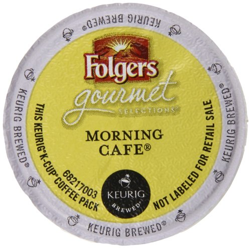 Folgers Gourmet Selections Morning Café Coffee, K-Cup for Keurig Brewers, 12 Count (pack of 6) (Folgers K Cups Breakfast Blend compare prices)
