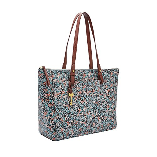 - Fossil Rachel Tote Blue Floral