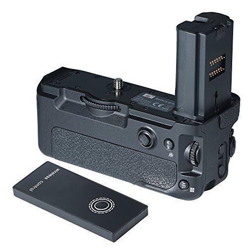 DSTE Pro Wireless Remote Control VG-C3EM Vertical Battery Grip for Sony A9 A7RIII A7MIII Digital Camera as NP-FZ100