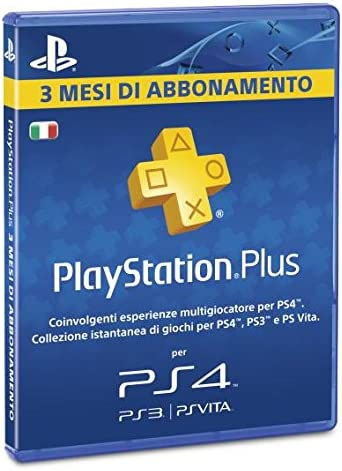 Sony Psn PS Plus Card 3 MESI: Playstation: Amazon.es: Videojuegos