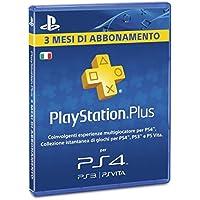 Sony Ps4 Playstation Plus Card 90 Gg [Importación Italiana]