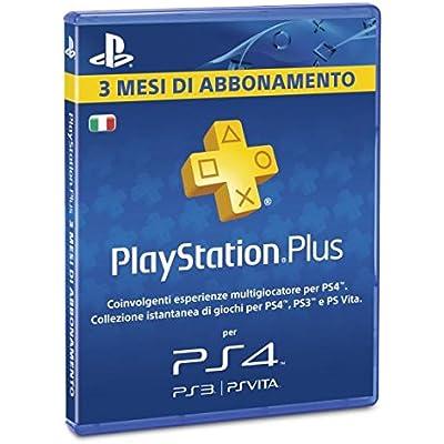 Sony Psn PS Plus Card 3 MESI