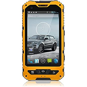 Amazon Com Sudroid A8 4 Inch Waterproof 3g Rugged Android