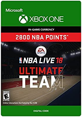 Amazon Com Nba Live 18 Nba Ut 2800 Points Pack Xbox One Digital